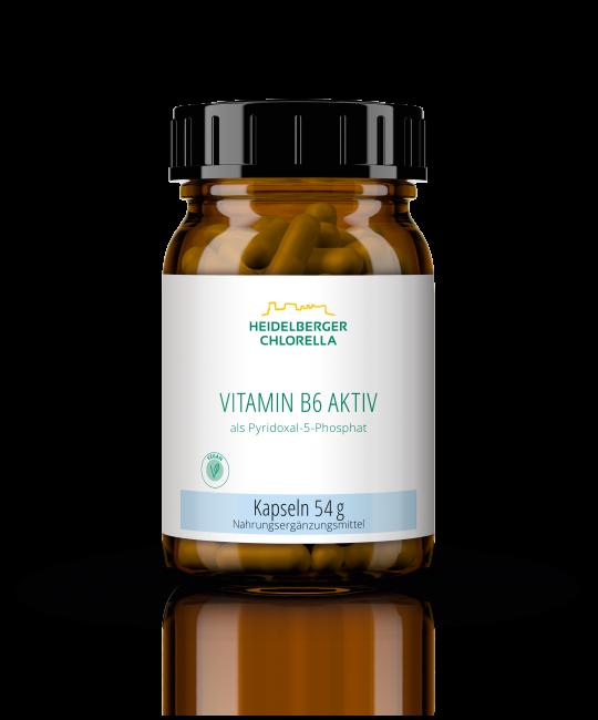 Vitamin B6 aktiv als Pyridoxal-5-Phosphat Kapseln